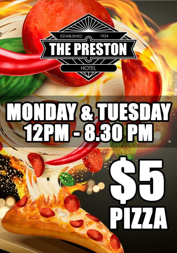 Preston -$5 PIZZA