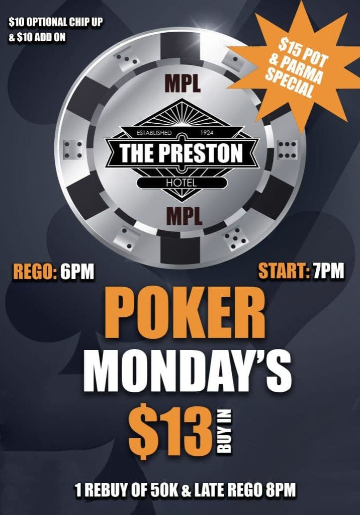 Preston - Poker POS