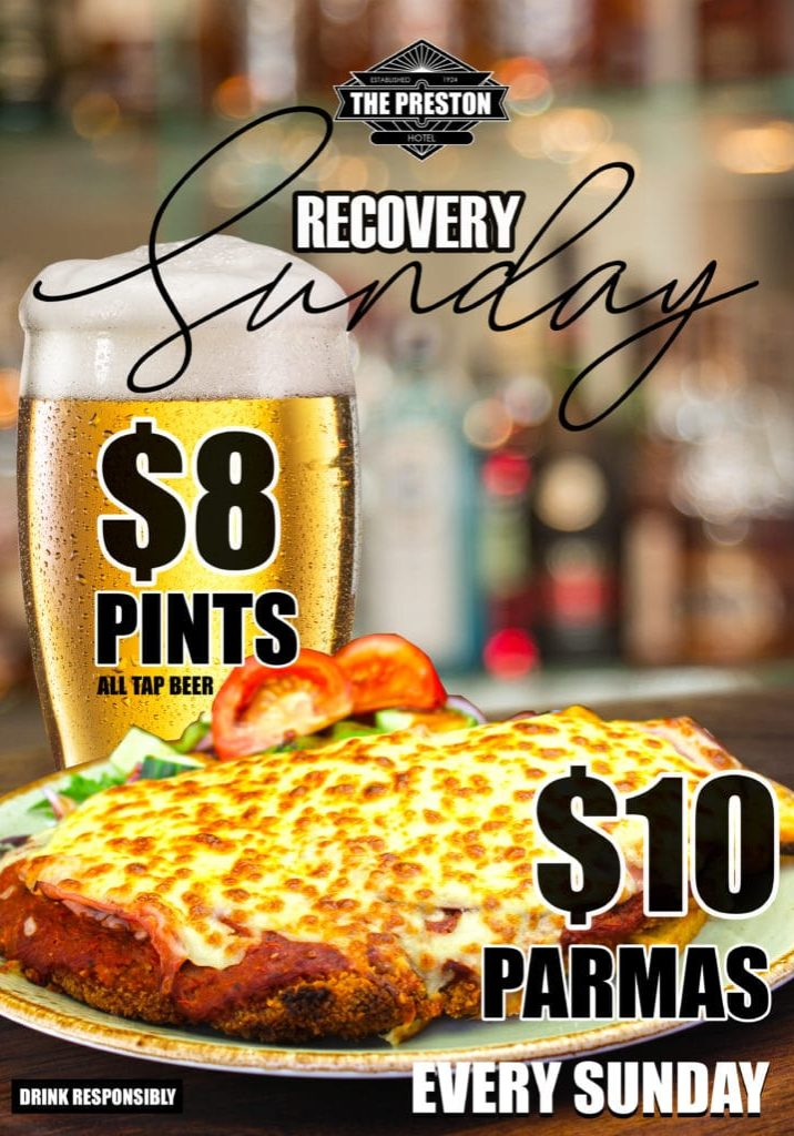 Preston - SUNDAY beer